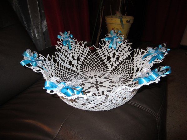 grande corbeille 35cm mes ouvrages au crochet. Black Bedroom Furniture Sets. Home Design Ideas
