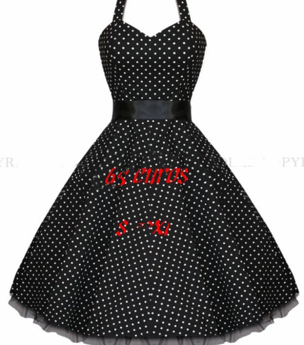 robe vintage pin up rockabilly enoras lycan. Black Bedroom Furniture Sets. Home Design Ideas