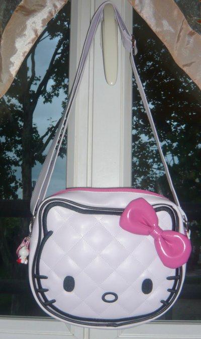 à Kitty Claire's Sac Clear Hello Handbags Main 0XqCwTEx